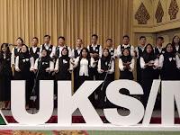 Paduan Suara SMAN 110 di Rakernas UKS Kemdikbud 2018
