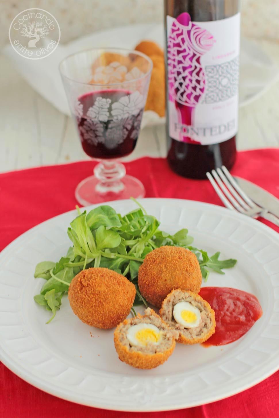Huevos De Codorniz Escoceses Receta Paso A Paso Cocinando