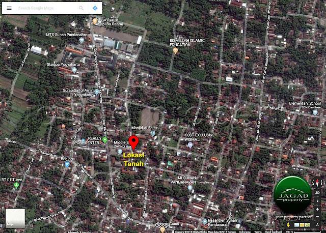 Tanah Bonus Bangunan Tua dekat UII Terpadu, jl kaliurang Km 13