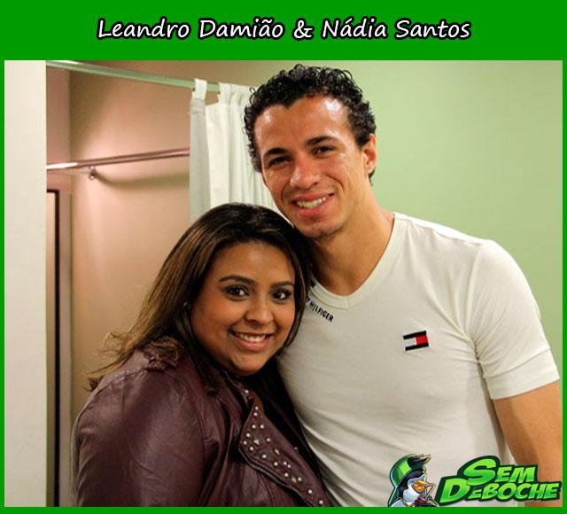 Leandro Damião & Nádia Santos