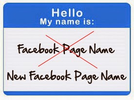 How to change facebook business page name more than once