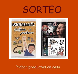 Sorteo Tatoos Skull Kit y Horror 3D
