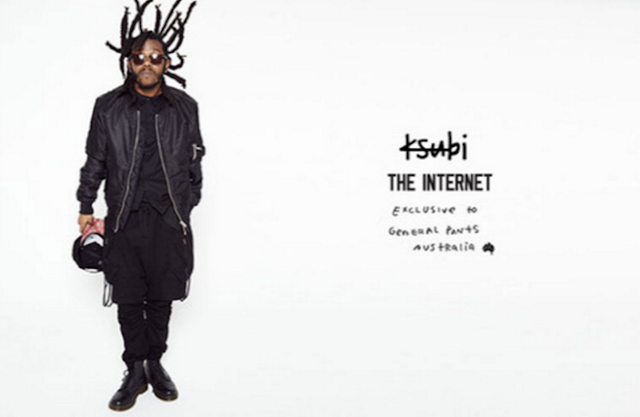 THE INTERNET X KSUBI FOR GENERAL PANTS syd the kid corner hotel footscray laneway festival melbourne richmond odd future
