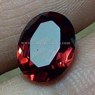 Batu Permata Red Garnet Ceylon - ZP 749