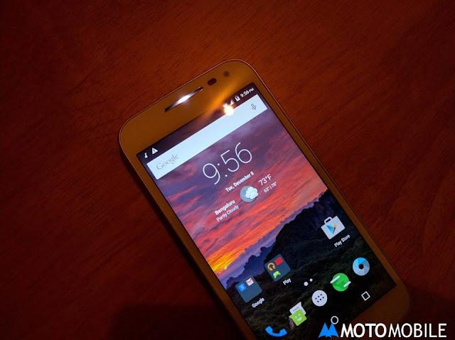 Moto G Led Notification Light