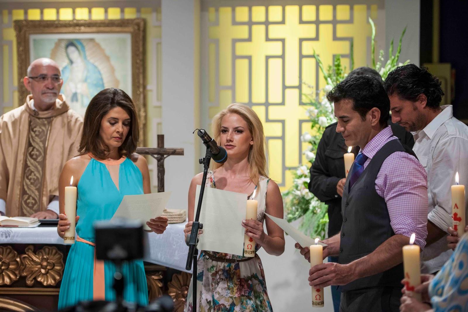 Telenovela Mentir para vivir: Fotos de la misa por el ...