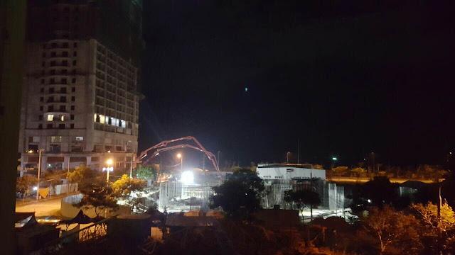 Tiến độ thi công Central Coast đêm ngày 18/08/2016