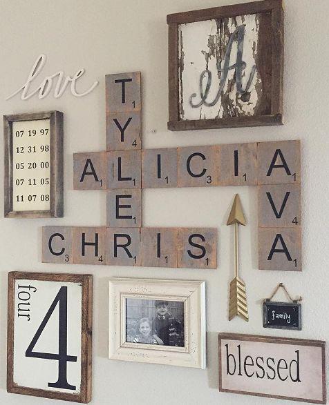 Ideias criativas para decorar a parede da sua sala blog for Decor 77