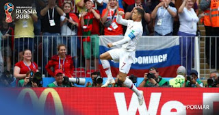 Top Skorer Piala Dunia 2018: Ronaldo Memimpin