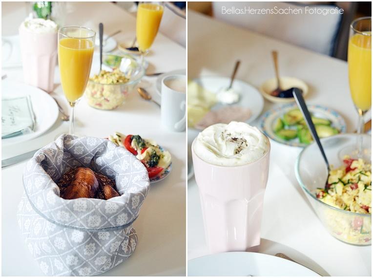lecker Frühstück hell