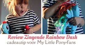 review zingende rainbow dash fb