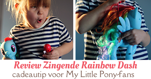 review zingende rainbow dash fb