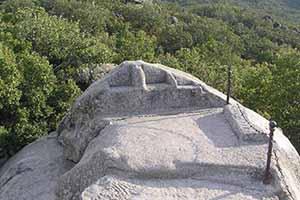 Silla de Felipe II El escorial nemeton celtibérico