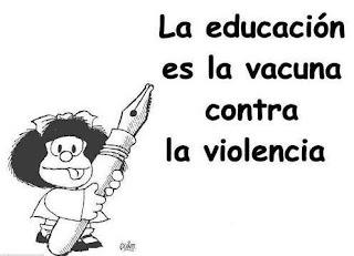 mafalda contra la violencia