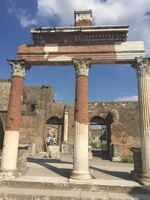 GHOSTLY RUINS OF POMPEII