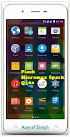 Flash Bricked / Bootloop Micromax Canvas Spark Q380.