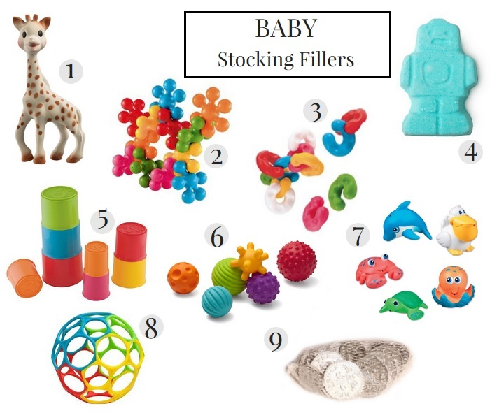 Baby stocking fillers