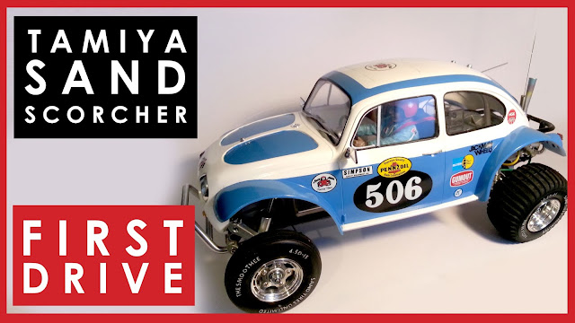 Taking the completed Tamiya Sand Scorcher for its first drive