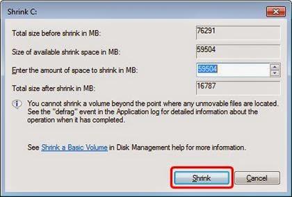 Cara Mudah Membuat Partisi Harddisk Tanpa Software