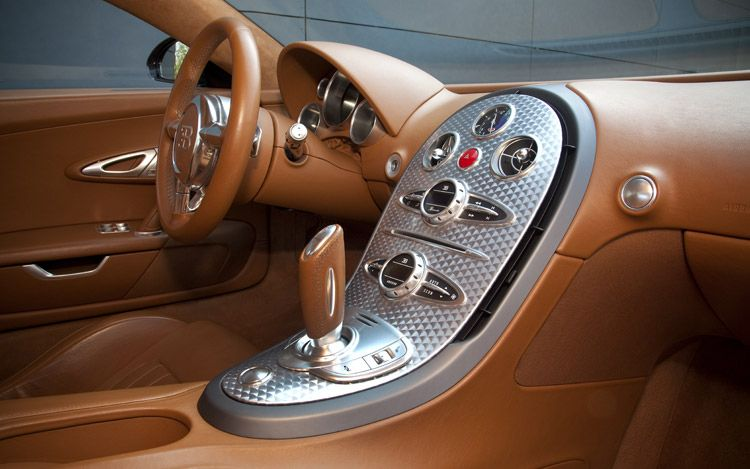 Bugatti Veyron Interior Car Models