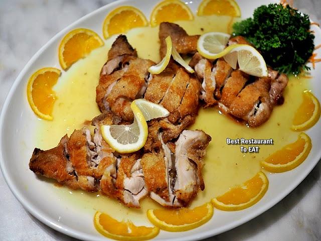 Cosmo Hotel Kuala Lumpur -Chinese New Year Menu - Chinese Lemon Chicken