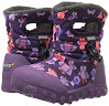 Bogs Baby B-MOC Puff Owl Winter Snow Boot (Toddler), Purple/Multi, 5 M US Toddler