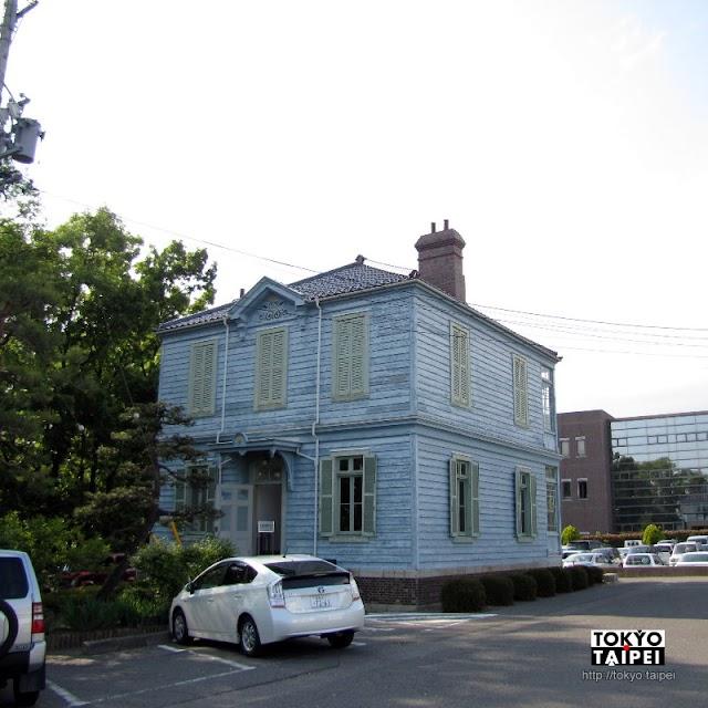 【舊司祭館】松本街角淺藍色木造房屋 原來是法國神父的家