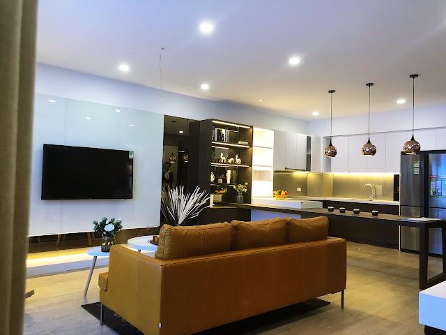 Hình ảnh căn hộ mẫu dự án Amber Riverside