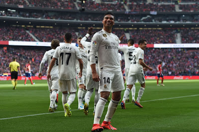 Hasil Real Madrid VS Atletico Madrid