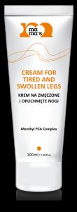 Testowanie MAMAS- Krem na zmęczone i opuchnięte nogi