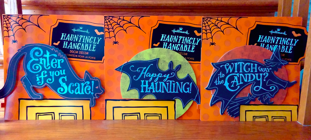 Hallmark Halloween decor silhouettes