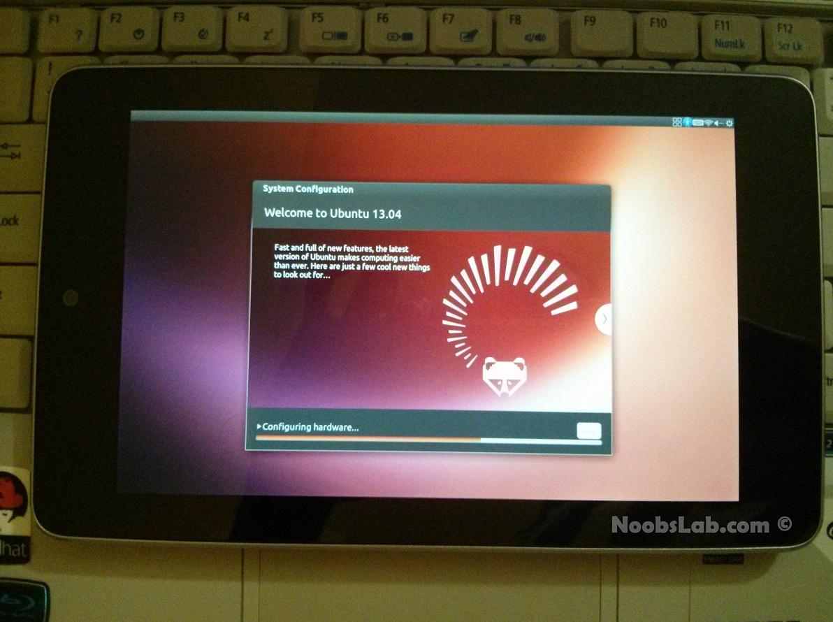 Review of ubuntu desktop on nexus 7 easily install ubuntu 1304 review of ubuntu desktop on nexus 7 easily install ubuntu 1304 raring on nexus 7 tablet voltagebd Images