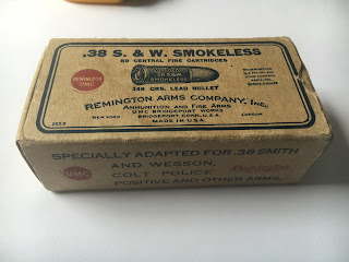 .38 S&W Smokeless Remington UMC Vintage Box