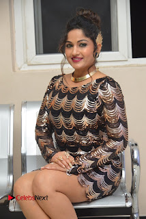 Actress Madhavi Latha Pictures in Short Dress at On Mona Birthday Premiere 0044