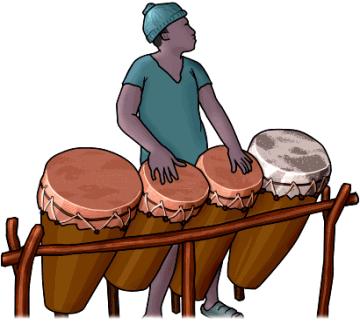 アフリカの太鼓 ブガラブー