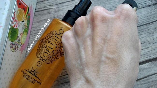 Como protejo mi cabello del sol: Orofluido Sahara