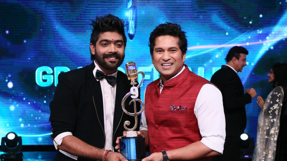 LV Revanth Winner of Indian Idol 9 Title