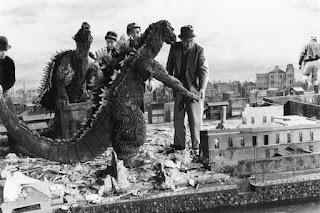 Rodaje película Kaiju