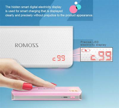 รีวิว ROMOSS LED Power bank แบตสำรองรุ่น Sense4Plus