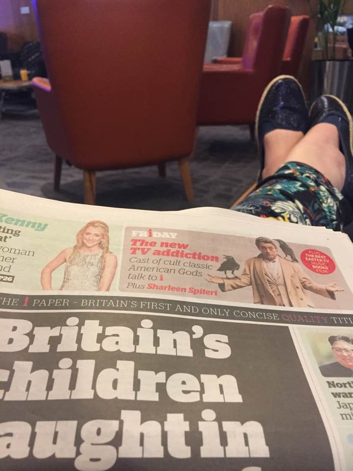 Is it worth booking an Escape VIP airport lounge for breakfast at Manchester airport if you have a morning flight?  - complimentary newspapers