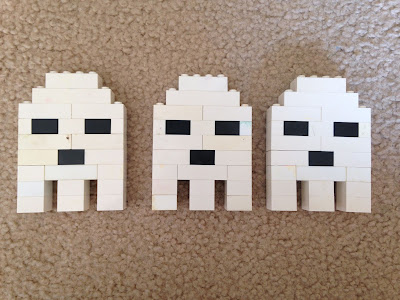 Lego Mini-Ghosts! Step by Step Instructions