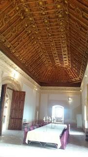 Salón Noble del Castillo de Belmonte.
