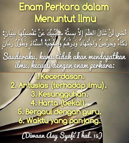 Kata Kata Motivasi Semangat Belajar Dalam Islam