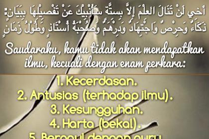 Kata Kata Semangat Untuk Belajar Dalam Islam Cikimm Com