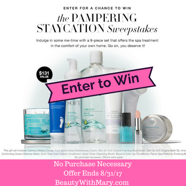 Avon Sweepstakes August 2017
