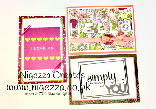 Stampin' Up!® Sweet Soiree Memories & More Greetings Cards