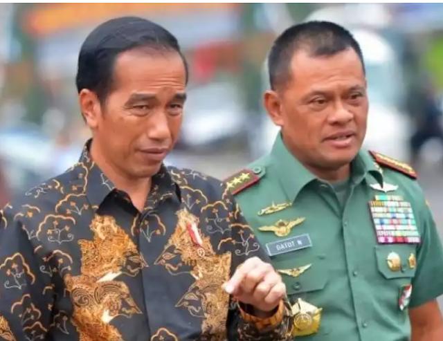 Jika 'Dipinang' Jokowi di Pilpres 2019, Gatot: Kita Lihat Nanti