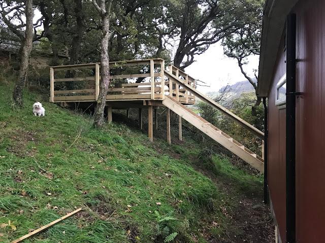 Timber decking wales