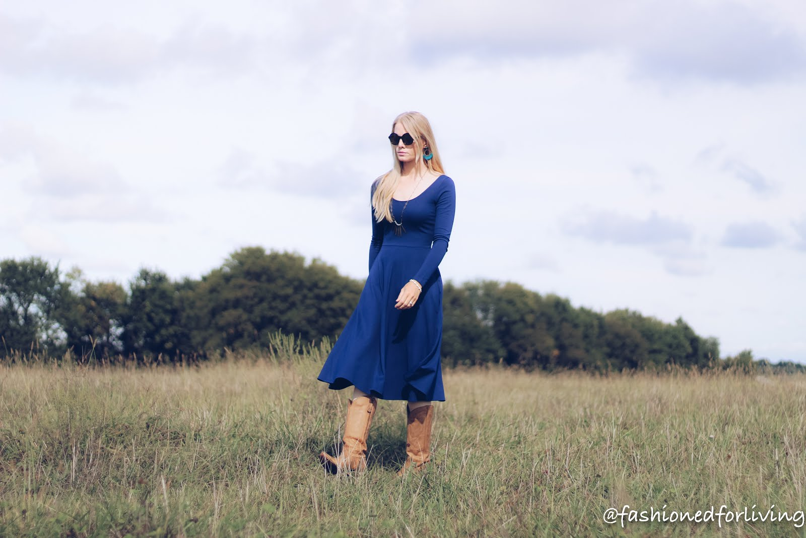 dress and cowboy boots