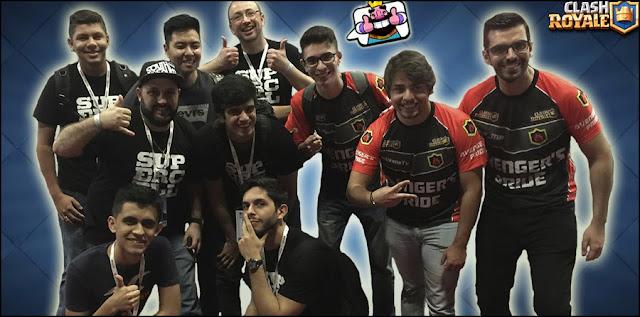 Vídeos de Youtubers no Torneio de Clash Royale na BGS